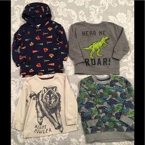 Toddler boys shirt bundle